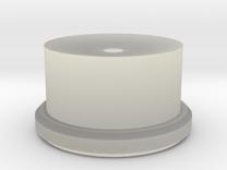 Barrel Closing Tool Bottom in Transparent Acrylic