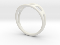 Ring2 in White Strong & Flexible