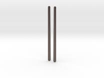 half twist earrings in Stainless Steel
