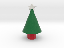 Xmas Tree small in Full Color Sandstone