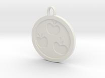 Apple Jack Cutie mark in White Strong & Flexible