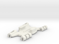 GoPro Kite Line Mount Flat Connector in White Strong & Flexible