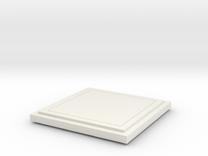 Floor Tile in White Strong & Flexible