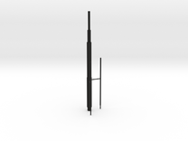 Willis Tower Antennae (Hollow) Right_Final in Black Strong & Flexible