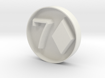 7D stamp in White Strong & Flexible