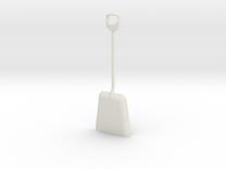 1/8 size coal shovel in White Strong & Flexible