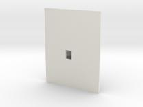 Plattegrond van een zolder in White Strong & Flexible