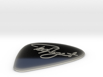 Ted Nugent Pick in Transparent Acrylic
