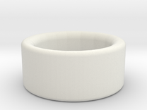 Jude Burford ring stainless steel in White Strong & Flexible