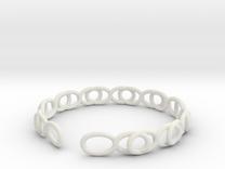 Pulsera Infinito in White Strong & Flexible