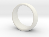Animated GL ring in White Strong & Flexible