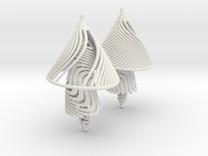 Earing Organic 03 in White Strong & Flexible