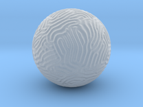 Small Reaction Diffusion Sphere in Frosted Ultra Detail