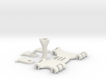 GoProLineKiteMount 2014 in White Strong & Flexible