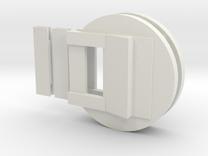 """Fluebasev3-less-125ver-dbl (1 1/4"""" models only!) in White Strong & Flexible"""