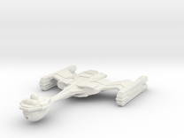 Starbarian C3 Assassin Class Cruiser in White Strong & Flexible