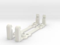 PI MOUNT 2pcs in White Strong & Flexible