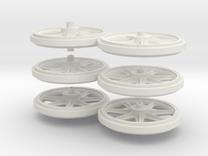 Wheels 2de Serie in White Strong & Flexible