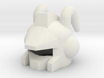 Robohelmet: Bug Sacker in White Strong & Flexible