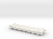 80t Warwell Trolley (FLATROL ELL) in White Strong & Flexible