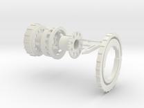 ASD 14mm CW V7 in White Strong & Flexible