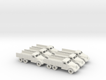 15mm Anglian 4x6 Hauler (x6) in White Strong & Flexible