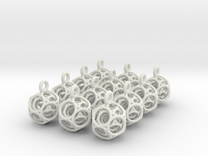 dodeca keybob (one dozen) in White Strong & Flexible