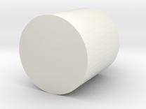 Poke Ball pin in White Strong & Flexible