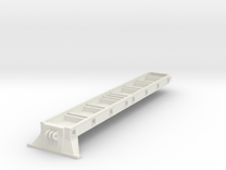 BAGGERBED_MODULETIEFLADER_TEIL1 in White Strong & Flexible