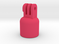 """GoPro Pole Mount (Fits 3/4"""" Sch 40 PVC) in Pink Strong & Flexible Polished"""