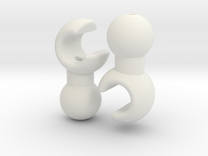 ModiBot Moli Hand Set in White Strong & Flexible