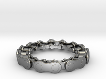RS CHAIN RING SIZE 6.5 in Premium Silver