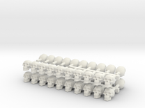 40 skulls high res  in White Strong & Flexible