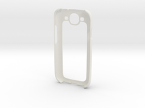 Samsung Galaxy S3 Case in White Strong & Flexible