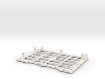 Rasberry Pi base in White Strong & Flexible