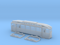 Tram Leipzig Typ24c Spur H0 (1:87) in Frosted Ultra Detail