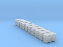 10 N Scale Knack Toolboxes FUD Only in Frosted Ultra Detail