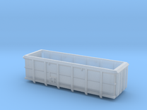 ASW Scrap Wagon PO-016p-v for N Gauge 1:148 in Frosted Ultra Detail