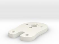 Universal Motorhalterung - Upper Part in White Strong & Flexible
