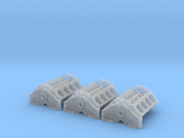 1 16 SBC High Detail Block 3 Pack in Frosted Ultra Detail