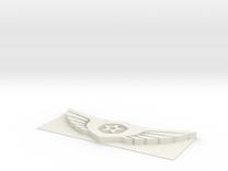Gypsy Danger logo in White Strong & Flexible