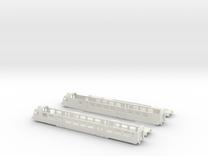 """SBB RBDe 560 """"NPZ"""" - TT scale in White Strong & Flexible"""