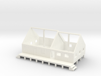 N logging - Mess Hall & Cookhouse in White Strong & Flexible Polished