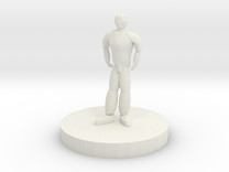 Humanoid Miniature in White Strong & Flexible