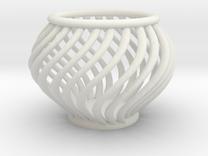 BasketScrewTecnique in White Strong & Flexible