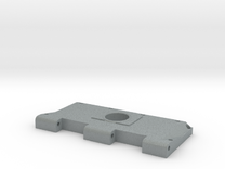 Widerlager Lüftergitter, links, offen in Polished Metallic Plastic