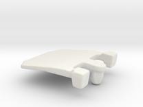 IBM Model F - Pivot Plate 3DScan in White Strong & Flexible