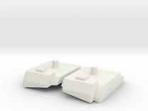 Feet set for Kabaya set 7 Bruticus in White Strong & Flexible