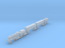 Steam Train (one piece, track not included) in Frosted Ultra Detail