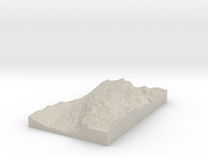 Model of Nordsætra in Sandstone